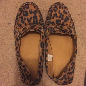 Shoes - Leopard Loafers